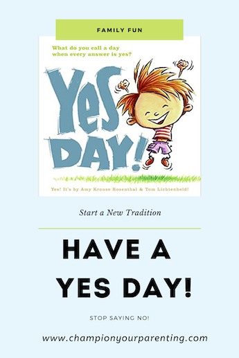 Cover of Yes Day book
