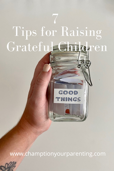 Jar collecting notes of good things that happen in life.
