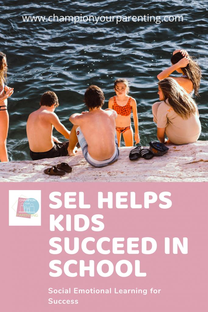 kids on dock by lake