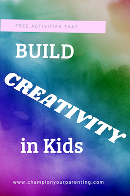 colorful background - build creativity in kids