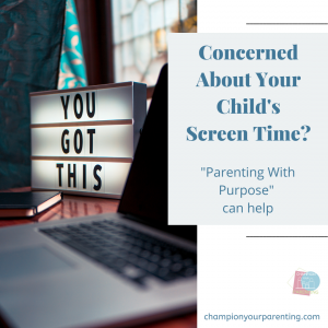 Are you concerned about your child's screen time?