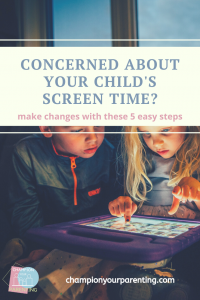 Concerned About Your Child's Screen Time