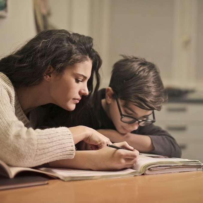 frustrated student homework