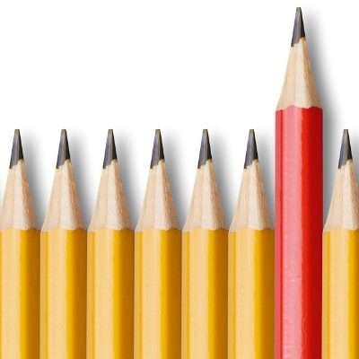 Line of yellow pencils with red pencil. Can I refuse Special Education
