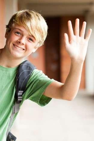 Middle School Boy